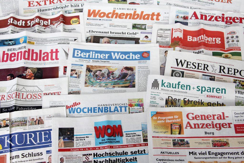 Anzeigenblätter werden von aktiven Menschen gelesen, die sich etwas leisten können. (Foto: BVDA)