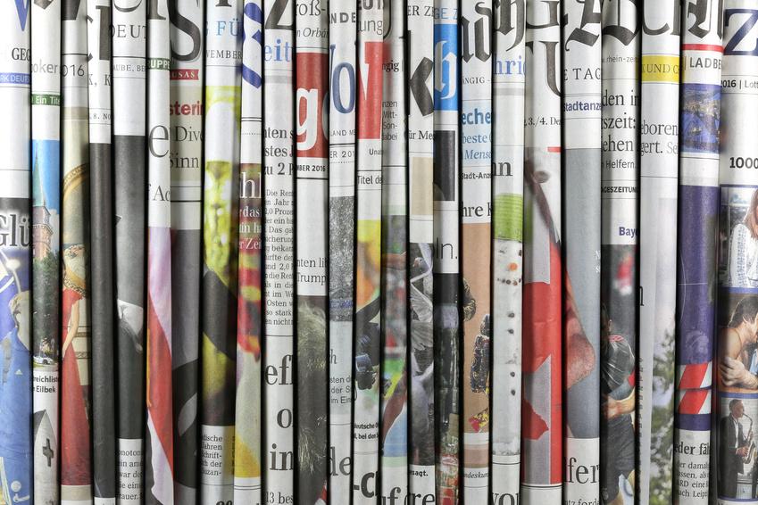 Storytelling für Zeitungen funktioniert am Besten mit einem Materndienst (Foto: fotolia/Björn Wylezich)